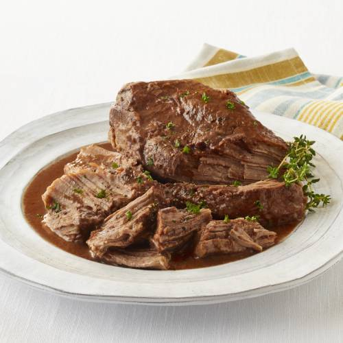 Pot Roast of Beef with Gravy